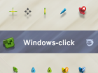 Windows click