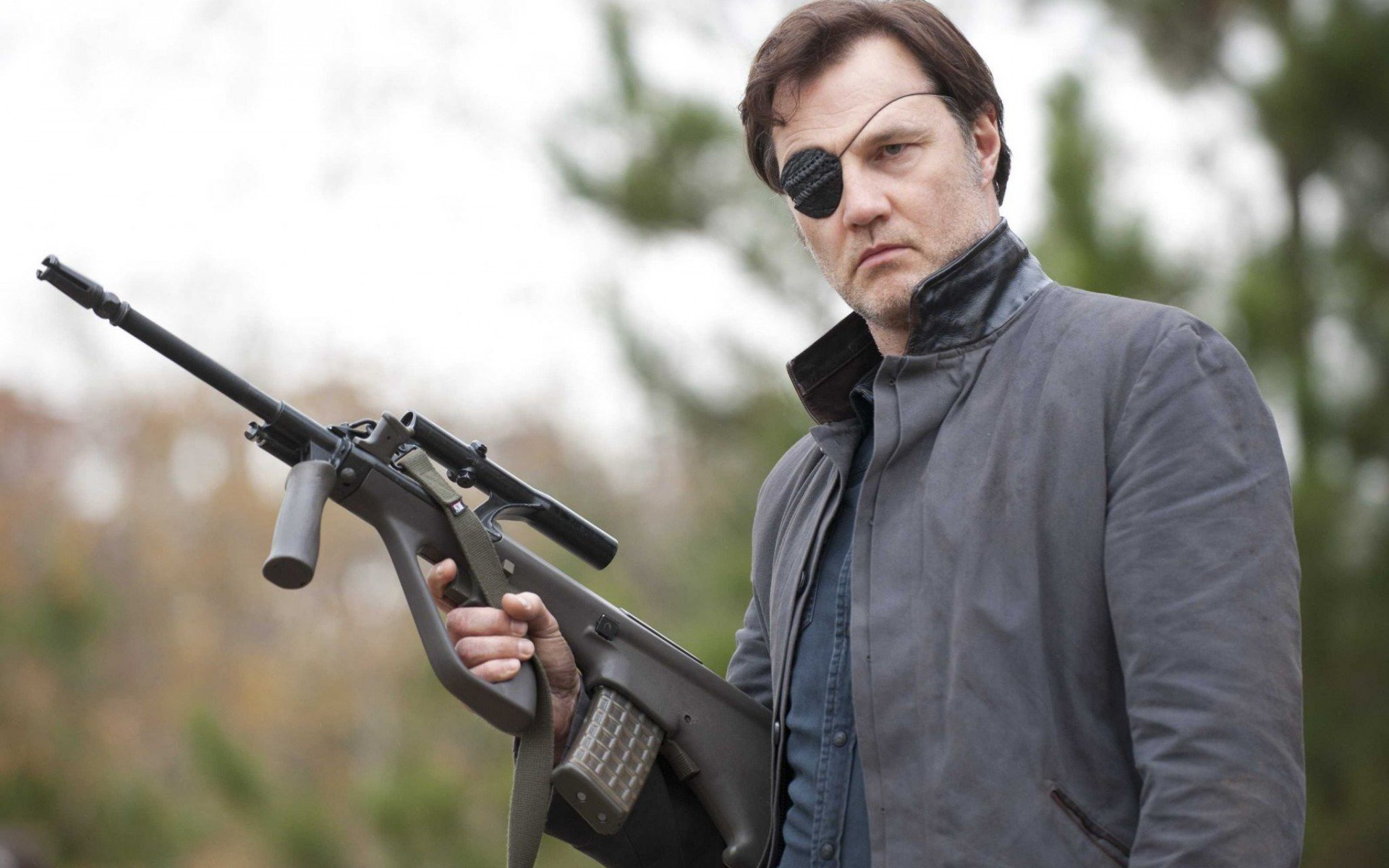губернатор, David Morrissey, the walking dead, Дэвид Моррисси, ходячие мертвецы