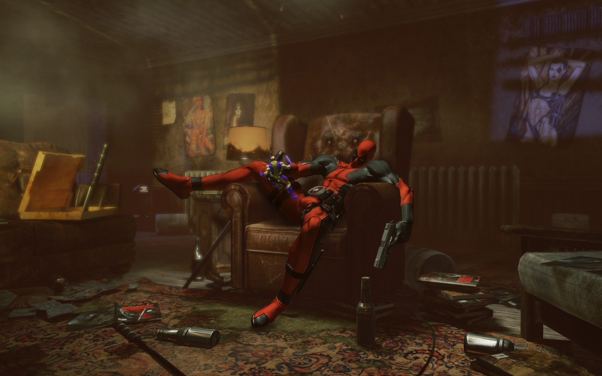 домино, game, deadpool, дэдпул